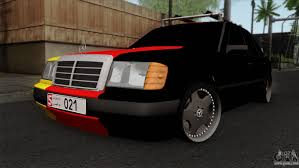 mercedes benz w124 e500 for gta san andreas