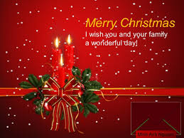 merry and happy new year wishes for you and your family