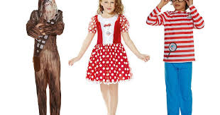world book day 2017 costumes last minute fancy dress ideas for
