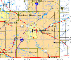 map of allen allen county indiana detailed profile houses real estate cost
