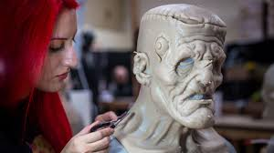 Real Looking Halloween Masks How Lifelike Fx Creature Masks Are Made Youtube