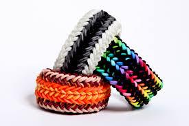 rainbow loom bracelets with one loom