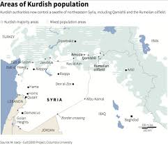 Map Of Syria And Surrounding Countries by Here U0027s A Map Of The Kurdish Nation Business Insider