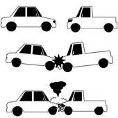 wrecked car clipart car crash clip art royalty free gograph