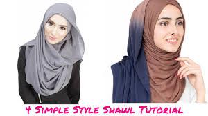 simple hijab styles tutorial segi empat tutorial shawl 4 simple style shawl tutorial hijab tutorial