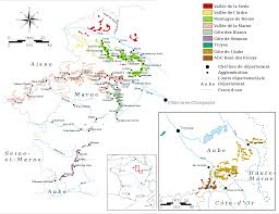 Wine Map Of France by Champagne Wine Region Wikipedia