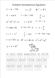 worksheet 564797 algebra puzzle worksheets u2013 printables algebra