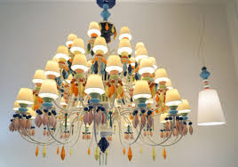 Italian Porcelain Chandelier Design Art And Functionality Come Together At The Milan Fair