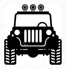 jeep silhouette off road jeep clipart clipartxtras