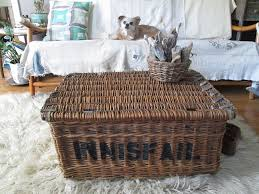 Wicker Trunk Coffee Table Square Wicker Trunk Coffee Table Best Gallery Of Tables Furniture