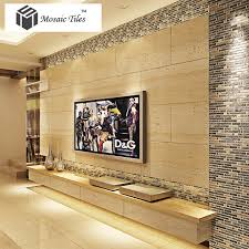 decorate your home by yourself living room tst mosaic tiles