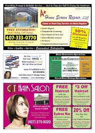 haircut coupons ta florida our town waterford lakes orlando area direct mail advertising