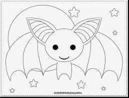 pleasant bat coloring pages to print bat halloween moon stars