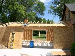 attached garage build youtube building plans online 62481