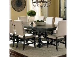 black dining room table with leaf steve silver leona cottage rectangular antique black dining table