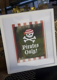 Pirate Decoration Ideas Best Diy Pirate Party Ideas Diy Inspired
