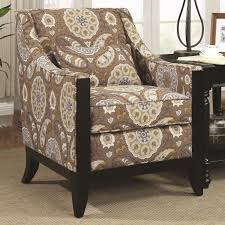 Accents Home Decor Stunning Paisley Accent Chair On Small Home Decoration Ideas With