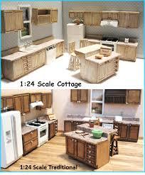 Dollhouse Kitchen Furniture Miniature Kits For Diy Dollhouse Enthusiasts