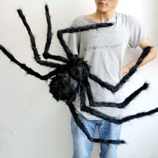 online shop simulate black u0026 colorful giant hairy spider halloween