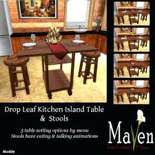 kitchen island table with chairs drop leaf table and chair sets kitchen island dining drop leaf table