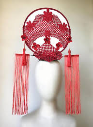top grade asian china headpiece ornamental fan hair accessories