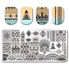 1 59 mixed abstract patterns nail art stamp template image plate