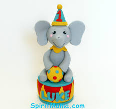 circus cake toppers circus theme birthday cake topper this is for a circus the flickr