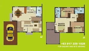 Camella Homes Drina Floor Plan Camella Silang Tagaytay Dorina House And Lot For Sale In Tagaytay City