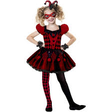Halloween Gift Baskets For Adults by Harlequin Cutie Child Halloween Costume Walmart Com