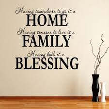 online get cheap blessing quotes aliexpress com alibaba group home family blessing english quotes wall stickers decal kids room living room bedroom home decor