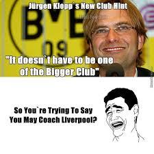 Liverpool Memes - klopp liverpool by mikejohnson meme center