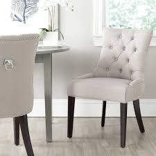 Safavieh Furniture Outlet Store Safavieh Harlow Taupe Ring Chair Set Of 2 Mcr4716a Set2 White