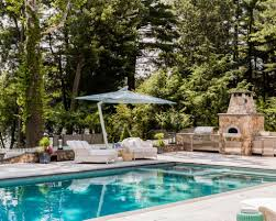 backyard designs with pool and outdoor kitchen best pools and