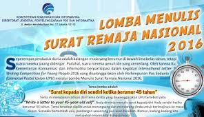 Apply Universal Postal Union International Letter Writing National Letter Writing Contest For Youth 2016 Seaqil