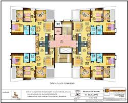 building floor plans viraj city c building floor plans project 3d views in kolhapur