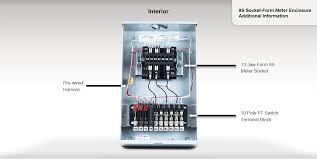 9s socket form meter enclosure electro industries