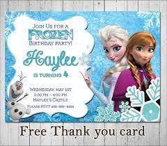 frozen invitation frozen birthday invitation disney frozen