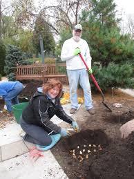Botanical Gardens Volunteer by Volunteer Work Day A Success Rotary Botanical Gardens