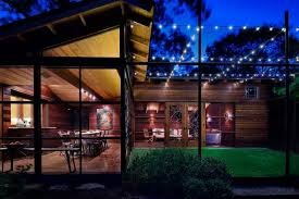 Patio String Lights by Backyard String Lights Patio Contemporary With Barbecue Container