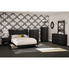 Bed With Storage In Headboard Bedroom Full Size Bed With Storage Drawers Underneath Queen