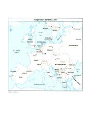 Map Of Europe After Ww1 by Changes In Europe U0027s Countries After Wwi Jack U0027s History Journal