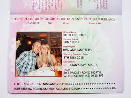 Wedding Invitations Cards Uk Uk Passport Wedding Invitations Passport Style Invites