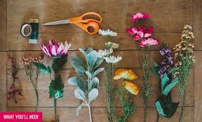 crowning floral spray diy silk flower crown green wedding shoes