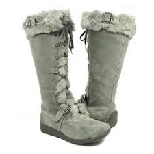 womens boots on amazon amazon com grey moccasin winter boots vegan f