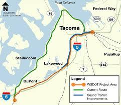 wsdot seattle traffic map rail tacoma bypass of point defiance project map wsdot