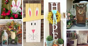 best easter decorations porch decor 23 best easter porch decor ideas and designs for 2018