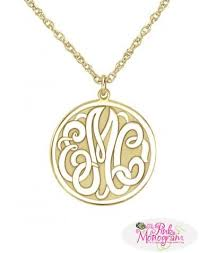 Monogram Pendant Necklace 660 Best Monogrammed Jewelry Images On Pinterest Monogram