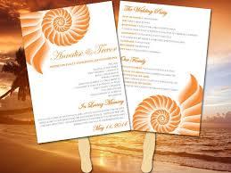 Beach Wedding Program Templates 559 Best Beach Weddings Images On Pinterest Beach Weddings
