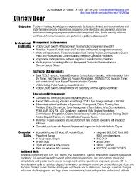 Unforgettable Software Specialist Resume Examples to Stand Out