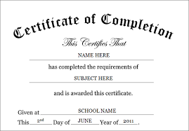 certificate of completion templatesports certificate in pdf